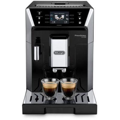 image DeLonghi eCAM 550.55. SB autonome entièrement automatique Machine de café en capsules 2L acier inoxydable cafetière