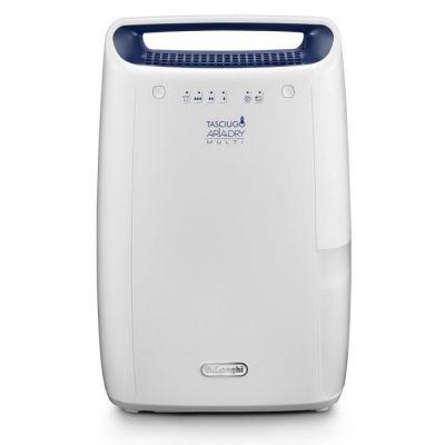 image De'Longhi DEX212F AriaDry Déshumidificateur d'air pour maison, 300 W, 12 litres, 37 décibels, plastique, blanc