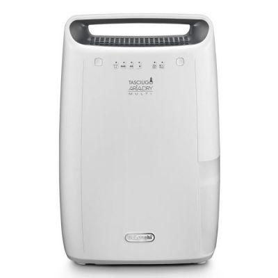 image De'Longhi DEX214F AriaDry Déshumidificateur d'air pour maison, 290 W, 14 litres, 37 décibels, plastique, blanc