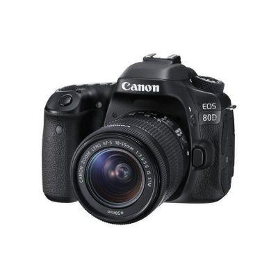 image Canon EOS 80D Reflex Numérique + EFS 1855mm F/3.55.6 IS STM
