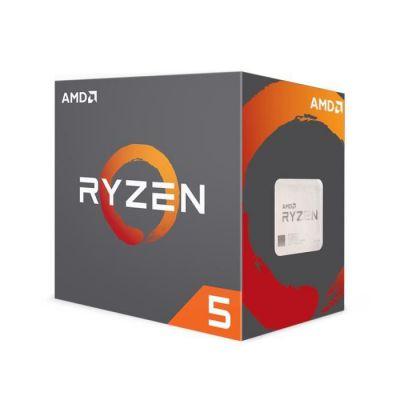 image AMD Processeur Ryzen 5 1600 avec refroidisseur Wraith Spire - 65W - Turbo 3,6GHz - Socket AM4 - YD1600BBAEBOX