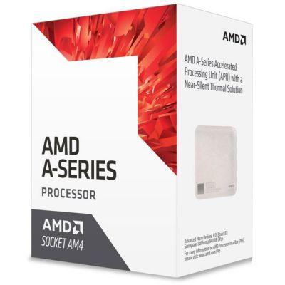 image AMD Processeur Bristol Ridge A8 9600 - APUs - Socket AM4 - 4/4 Core - 3400 MHz - 2Mo