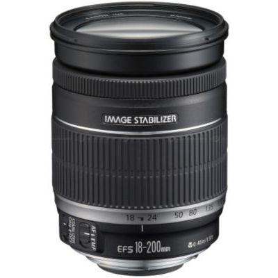 image Canon EF-S 18-200 mm f/ 3,5-5,6 is Zoom avec stabilisateur d'image 4 Vitesses & EW-78D Paresoleil d'objectif