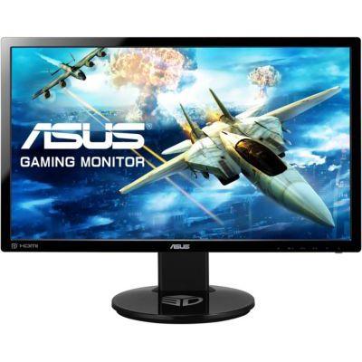 image ASUS VG248QE - Ecran PC gaming eSport 24'' FHD - Dalle TN - 16:9 - 144Hz - 1ms - 1920x1080 - 350cd/m² - Display Port, HDMI et DVI - Haut-parleurs - Nvidia 3D Vision