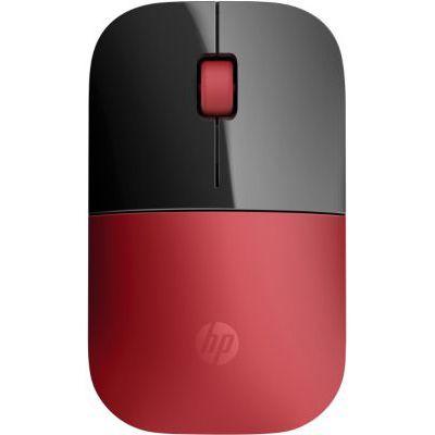 image HP Z3700 - Souris Sans Fil Rouge (USB, 1200 DPI, Ambidextre)
