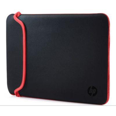 """image HP Housse de Protection Réversible pour Ordinateur Portable 14"""" (Néoprène) - Noir/Rouge"""