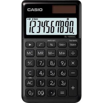 image Casio SL 1000 SC BK Calculatrice de poche Noir