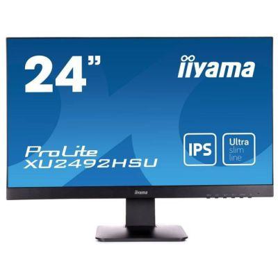 image Ecran PC - IIYAMA ProLite XU2492HSU-B1 - 23,8- FHD - Dalle IPS - 4ms - DisplayPort/HDMI