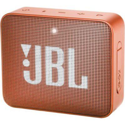 image JBL GO 2 - Mini Enceinte Bluetooth portable - Étanche pour piscine & plage IPX7 - Autonomie 5hrs - Qualité audio JBL - Orange