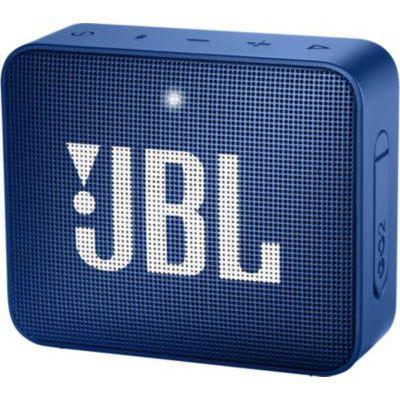 image JBL GO 2 - Mini Enceinte Bluetooth portable - Étanche pour piscine & plage IPX7 - Autonomie 5hrs - Qualité audio JBL - Bleu