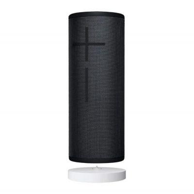 image Ultimate Ears Megaboom 3 Enceinte sans Fil Portable Bluetooth + Socle de Chargement Power Up, Basses Profondes, Etanches, Flottante, Connexion Multiple, Batterie Longue Durée - Noire