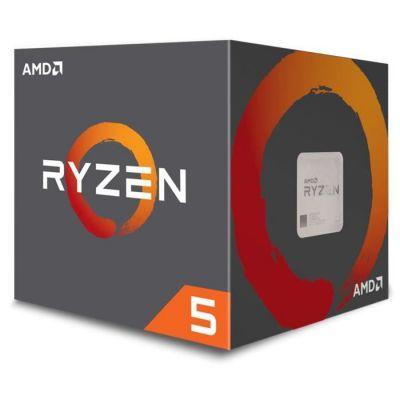image AMD YD2600BBAFBOX Processeur RYZEN5 2600 Socket AM4 3.9Ghz,