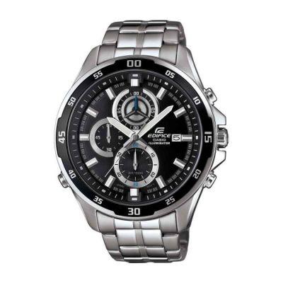 image Casio Edifice Homme Analogique Quartz Montre avec Bracelet en Acier Inoxydable EFR-547D-1AVUEF