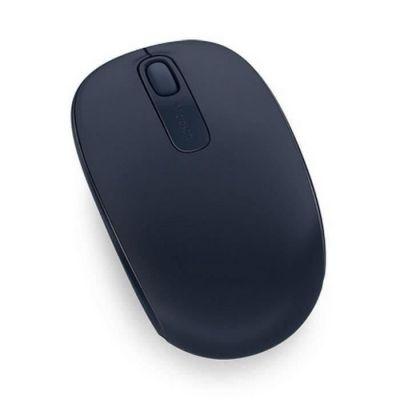 image Microsoft - Wireless Mobile Mouse 1850 - Souris sans Fil avec nano récepteur USB pour PC, ordinateurs portables compatible Windows, Mac, Chrome OS - Wool Blue (U7Z-00014)