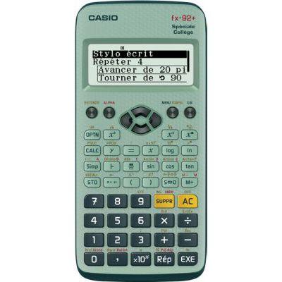 image Casio FX-92+ Calculatrice scientifique Spéciale collège