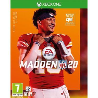 image Jeu Madden NFL 20 sur Xbox One