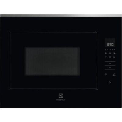image Micro ondes Grill Encastrable Electrolux KMFD264TEX - Micro-Ondes + Grill Intégrable Inox anti-trace et noir - 26 litres - 900 W