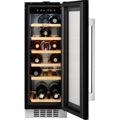 image Electrolux ERW0673AOA refroidisseur à vin Intégré Noir Refroidisseur de vin compresseur A - Cave à vin (Intégré, Noir, Noir, 6 étagères, 1 portes(s), Noir)