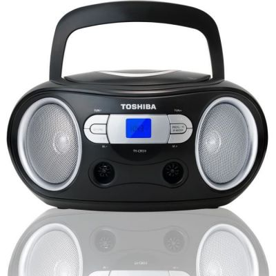 image Toshiba TY-CRS9 Boombox CD Portable Noir