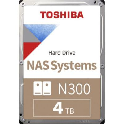 image Toshiba HDWQ140EZSTA Disque dur interne 4 To SATA