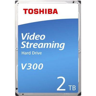 image 'Toshiba hdwu120uzsva–Internal HDD de 3.5(2TB Video Streaming V3005700RPM, 64MB bulk), couleur noir