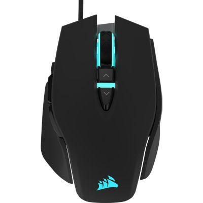 image Souris Gaming Corsair M65 Elite RGB Optique FPS  (18 000 DPI, Rétroéclairage RGB LED, Système d'ajustement du poids) - Noir
