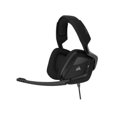 image Corsair VOID ELITE Surround Casque de Gaming (Son surround 7.1, Microphone omnidirectionnel optimisé avec PC, PS4, Xbox One, Switch et mobiles Compatibilité) Noir