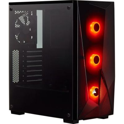image Corsair SPEC-DELTA, Carbide Series, RGB en Verre Trempé Moyen-tour Boîtier Gaming - Noir