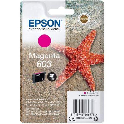 image Epson C13T03U34010 approprié pour XP2100 Encre Magenta Nr.603 2,4ml