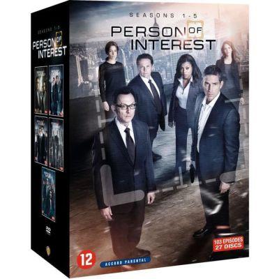 image Person of Interest - Saisons 1 à 5 - Coffret DVD