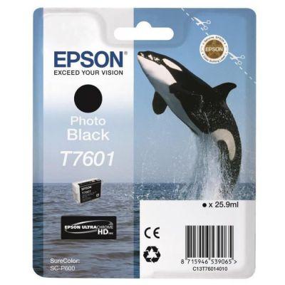image EPSON cartouche d'encre  T7601 N PHOTO 25.9ML, Noir, L