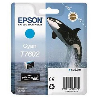 image EPSON cartouche d'encre  T7602 C 25.9ML