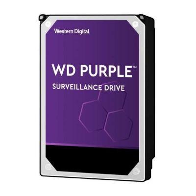 """image Western Digital - WD Purple 8To - Disque dur interne pour la vidéo surveillance avec technologie Allframe 4K™ - 3.5"""" SATA 6 Go/s, 360To/an, 256Mo Cache, 7200rpm - WD82PURZ"""
