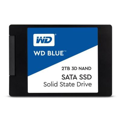 """image Western Digital - WD Blue SSD - Disque SSD interne 2.5"""" SATA 2To 3D NAND"""