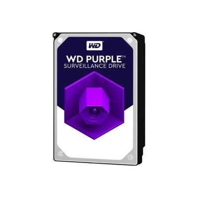"""image Western Digital - WD Purple 12To - Disque dur interne pour la vidéo surveillance avec technologie Allframe 4K™ - 3.5"""" SATA 6 Go/s, 360To/an, 256Mo Cache, 7200rpm - WD121PURZ"""