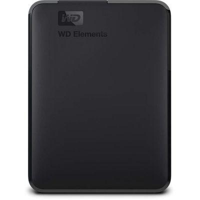 image WD Elements Disque Dur Portable Externe 5 to USB 3.0 & Étui pour Disque Dur Portable My Passport Essentiel Noir