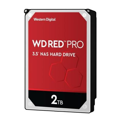 "image Western Digital Rouge Pro 2To 3.5"" NAS Disque dur interne - 7200 RPM - WD2002FFSX"