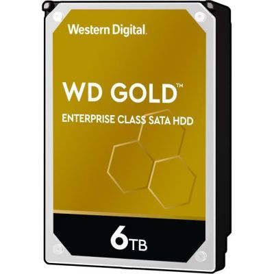 image WD Gold 6To HDD sATA 6Go/s 512n
