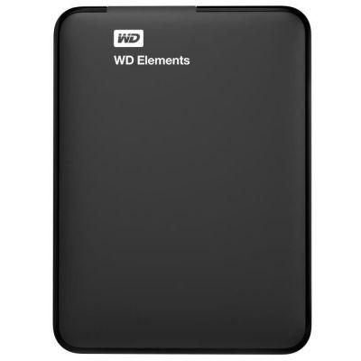 """image WD Elements Disque dur portable externe -USB 3.0 4TB noir & Case Logic QHDC101K Étui semi-rigide pour unité de Disque Dur 2,5"""" Noir"""