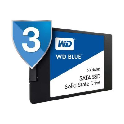 "image Western Digital - WD Blue SSD - Disque SSD interne 2.5"" SATA 500Go 3D NAND"