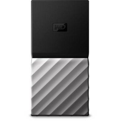 image Western Digital WDBKVX2560PSL-WESN My Passport Portable SSD 256 Go, Noir/Argent