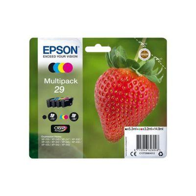 EPSON Multipack T2986 - Fraise - Noir, Cyan, Magenta, Jaune