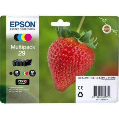image EPSON Multipack 4-COL.29 Home Ink Blck/Y/CY/MG Standard RF+AM, Noir, Normal