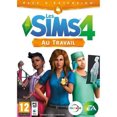 image Jeu Les Sims 4 : au travail - Code de Téléchargement pour PC