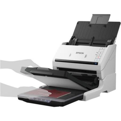 image Epson Kit Scanner à Plat - Pièces de Rechange pour équipement d'impression (Epson, Scanner, Workforce DS-530, Workforce DS-770, Plateau, Noir, Blanc, 1 pièce(s))