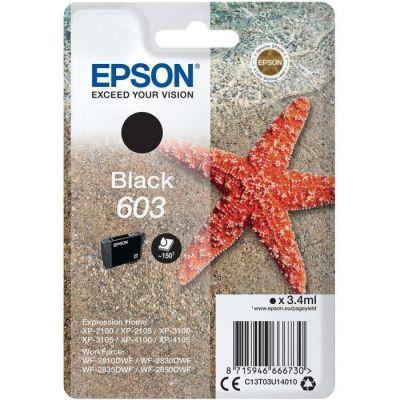 image Epson C13T03U14010 approprié pour XP2100 Encre Noir Nr.603 3,4ml