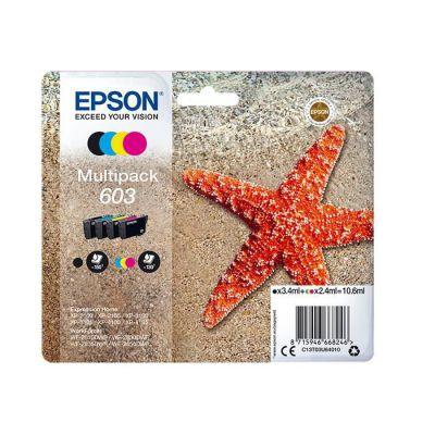 image Epson C13T03U64010 Approprié pour XP2100 Encre Multi Couleur Nr.603 10,6 ML Noir L
