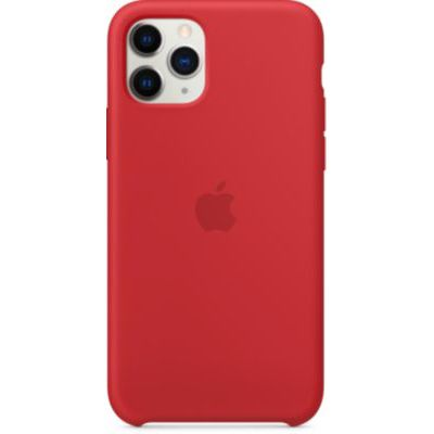 image Apple Coque en Silicone (pour iPhone 11 Pro) - (PRODUCT)RED