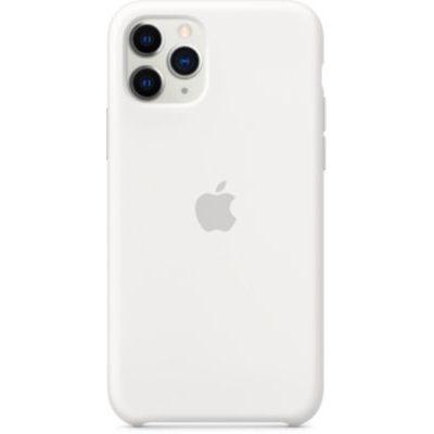 image Apple Coque en Silicone (pour iPhone 11 Pro) - Blanc