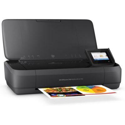 image HP Officejet Mobile 250 Imprimante portable Multifonction jet d'encre couleur (10 ppm, 4800 x 1200 ppp, USB, Wifi)
